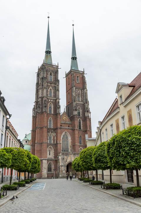 Wrocław na weekend: Ostrów Tumski za dnia