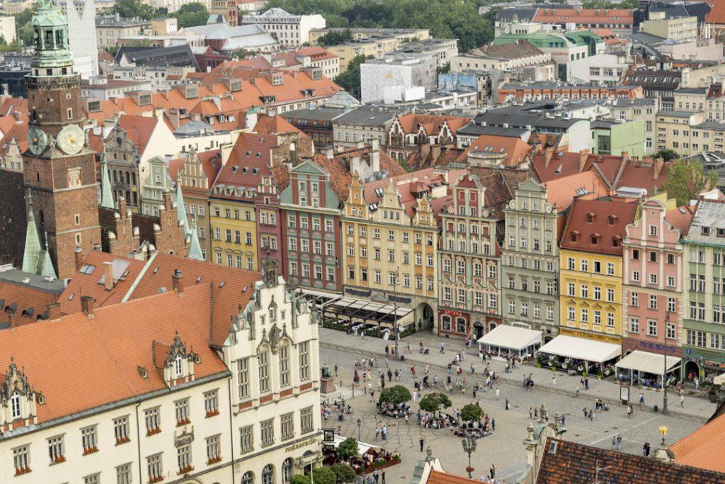 Wrocław na weekend: punkt widokowy na kościele Garnizonowym