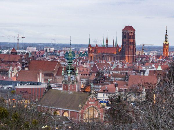 Gdańsk atrakcje: widok z góry Gradowej