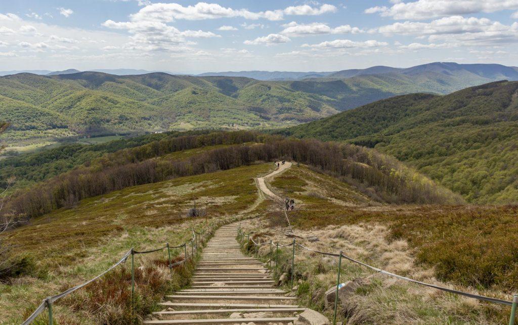 Szlak na Tarnicę z Wołosatego